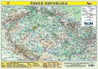 Česká republika - mapa A3 lamino