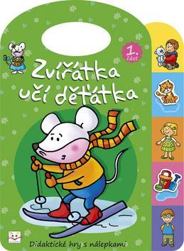 Kniha: Zvířátka učí děťátka 1autor neuvedený