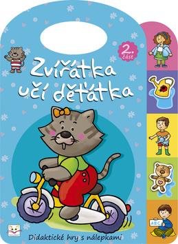 Kniha: Zvířátka učí děťátka 2autor neuvedený