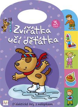 Kniha: Zvířátka učí děťátka 3autor neuvedený
