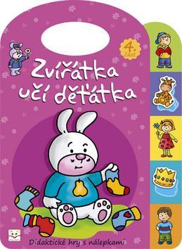 Kniha: Zvířátka učí děťátka 4autor neuvedený