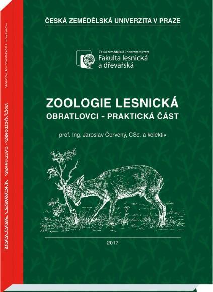 Kniha: Zoologie lesnická - praktická část - Jaroslav Červený