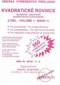 Kvadratické rovnice, I.diel