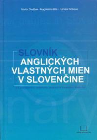 Slovník angl.vlastných mien v slovenčine