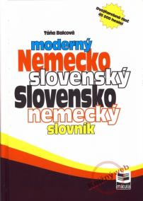 Moderný nemecko -slovenský slovensko -nemecký slovník