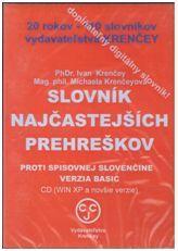 CD Slovník najčastejších prehreškov proti spisovnej slovenčine