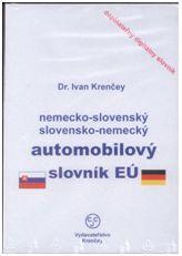 CD-ROM Nemecko-slovenský, slovensko-nemecký automobilový slovník EÚ