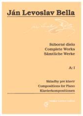 Súborné dielo, A:I, Skladby pre klavír