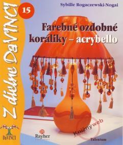Farebné ozdobné koráliky-acrybello – DaVINCI 15