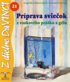 Príprava sviečok z voskového prášku a gélu – DaVINCI 21
