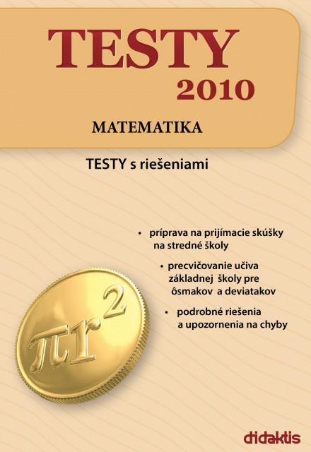 Kniha: Testy 2010 - Matematika - Brigita Kamenská