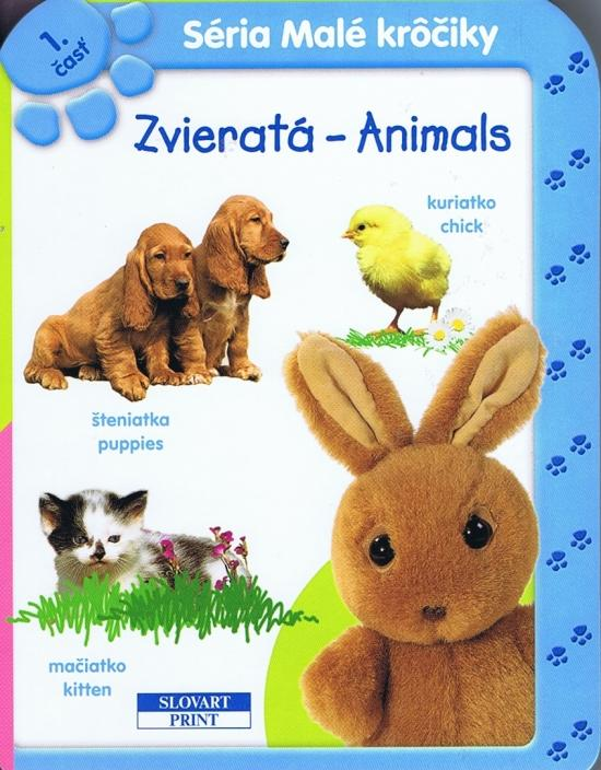 Zvieratá - Animals 1 - leporelo