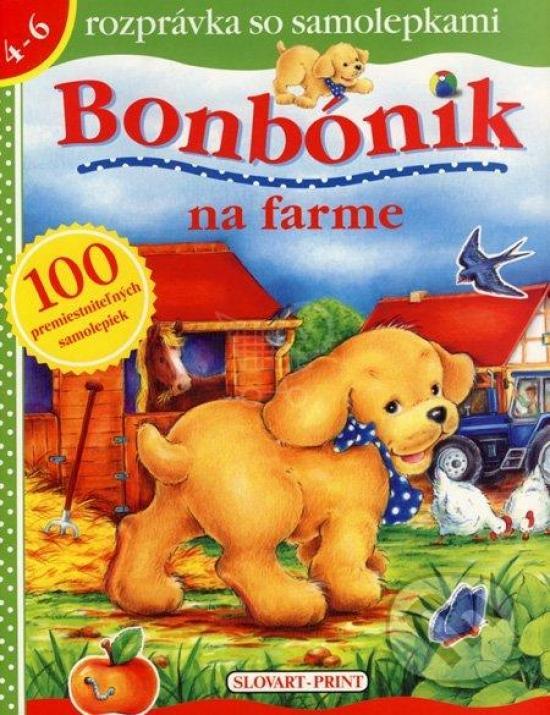 Kniha: Bonbónik na farme - Mouthier Jean
