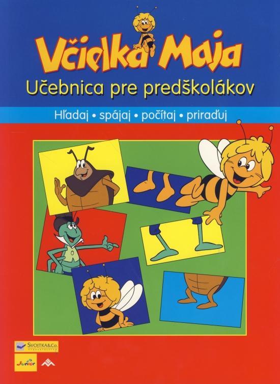 Včielka Maja - Učebnica pre predškolákov