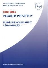 Paradoxy prosperity