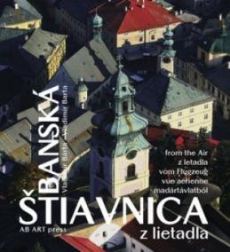Banská Štiavnica z lietadla