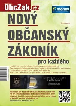Kniha: Nový občanský zákoník pro každéhoautor neuvedený