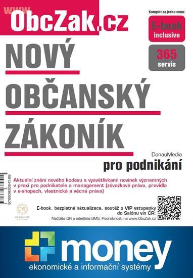 Kniha: Nový občanský zákoník pro podnikáníautor neuvedený