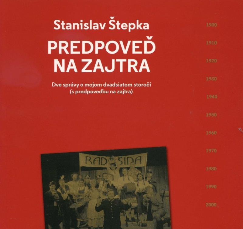 Kniha: Predpoveď na zajtra - Stanislav Štepka