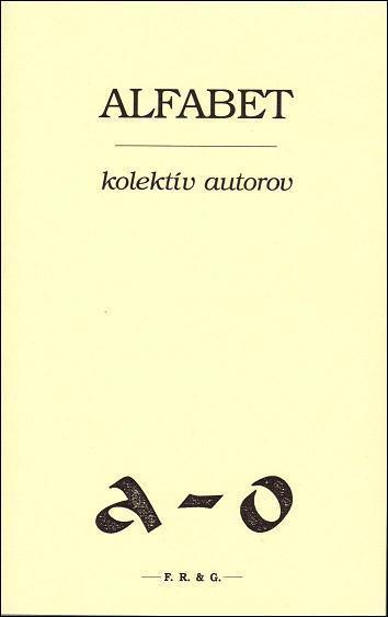 Kniha: Alfabet - Kolektív autorov