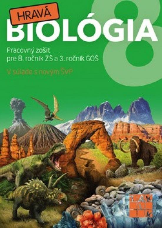 Kniha: Hravá biológia 8 PZkolektív autorov