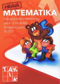 Hravá matematika 1- PZ pre 4 - 5 ročné deti