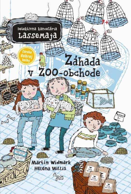 Záhada v ZOO obchode - Detektívna kancelária LasseMaja 4