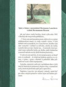 Spisy a básne z pozostalosti Hermanna Lauschera vydané Hermannom Hessem