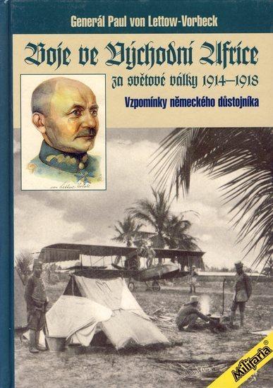 Kniha: Boje ve Východní Africe (1914-1918)autor neuvedený