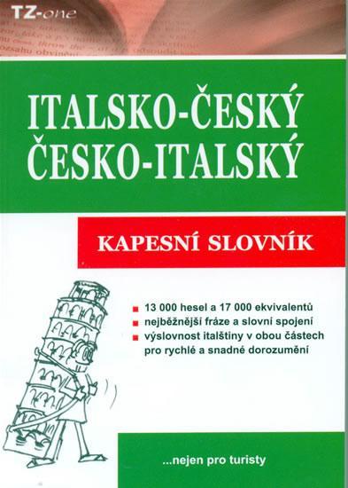 Italsko-český/česko-italský kapesní slovník