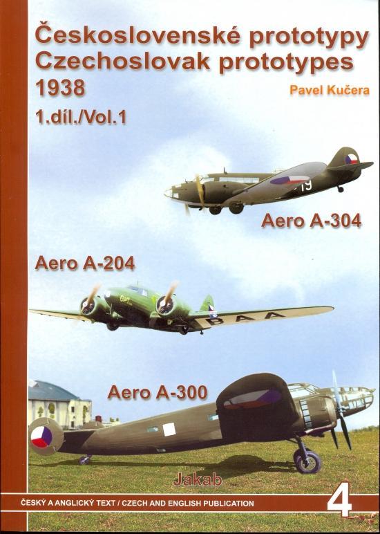 Kniha: Československé prototypy 1938 - 1.díl - Kučera Pavel