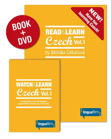 Read + Learn Czech Vol.1 (učebnice+DVD)