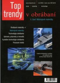 Top trendy v obrábaní II. časť - nástrojové materiály
