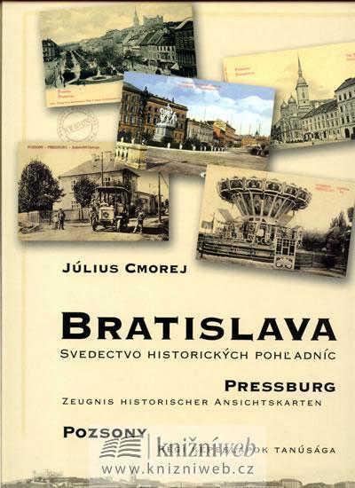 Bratislava svedectvo historických pohľadníc