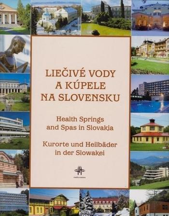 Kniha: Liečivé vody a kúpele na Slovensku - Kolektív autorov