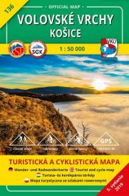 Volovské vrchy - Košice (5.vydanie)