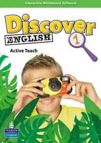 Discover English 1 ActiveTeach (Interactive Whiteboard software)
