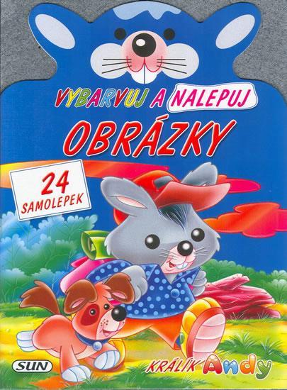 Kniha: Vybarvuj a nalepuj - králík Andykolektív autorov