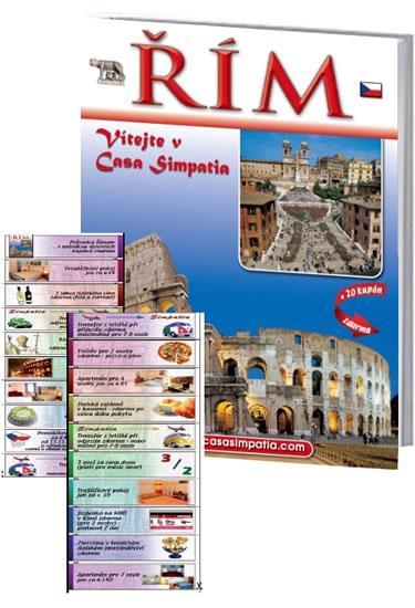 Řím - Vítejte v Casa Simpatia + 20 kupónů zdarma