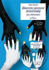 Kniha: Klavírní jazzové minietudy + CD - Milan Dvořák