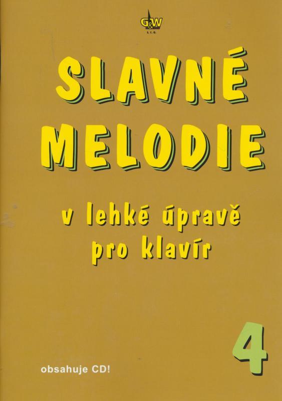 Kniha: Slavné melodie 4.díl + CD - R. Linhart